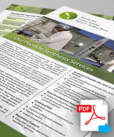 Peptides - Brochure