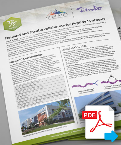 Peptide Collaboration - Brochure